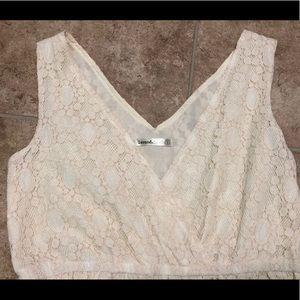 Lavand Dresses - 5/$25 Lavand cream lace dress (small) EUC
